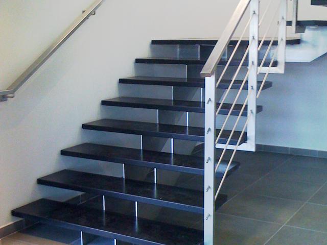 escalier-inox